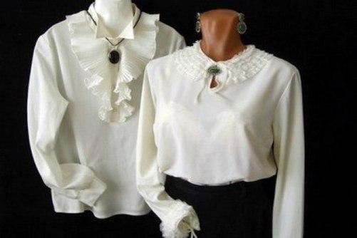 Блузки Белые Женские Нарядные