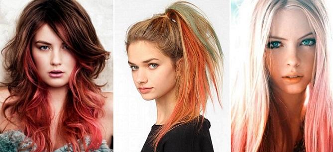 Окрашивание волос молодежная