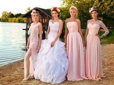 Вечерние платья на свадьбу для гостей
