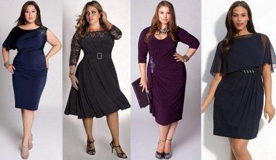 109912ed12b платья для полных женщин что выбрать
