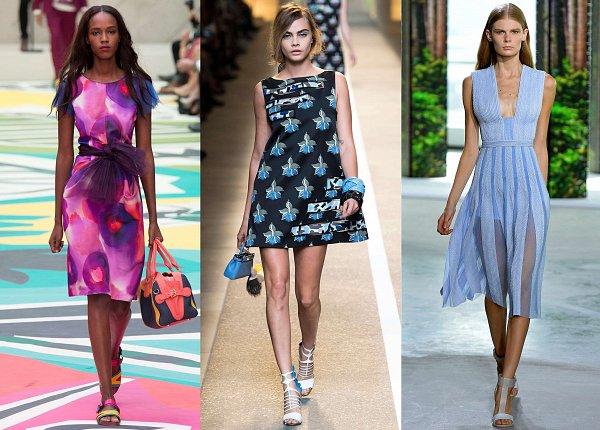 летние платья 2016