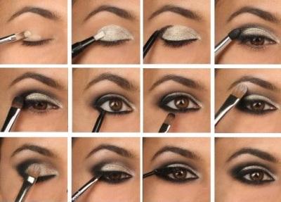 Как правильно сделать с помощью макияжа узкие (раскосые)