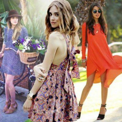 летние платья 2