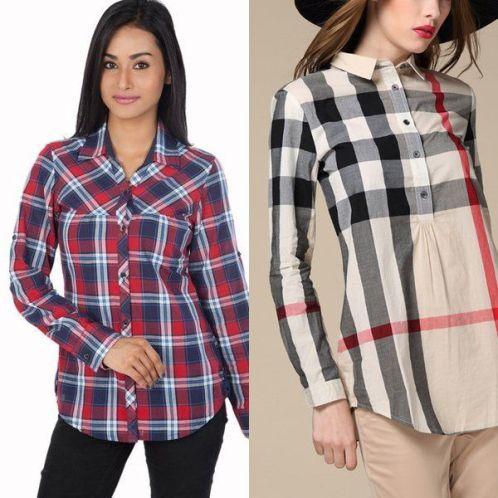 61146e640e0 Рубашка в клетку – с чем носить в разных стилях