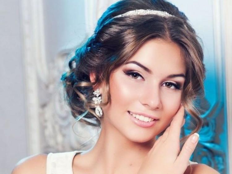 Свадебный макияж красивый