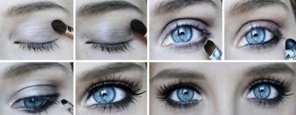 макияж-для-голубых-глаз3