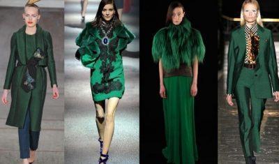 0b8698902d5 Особенно роскошен в вечерних моделях платьев. Яркие аксессуары сочного  зеленого тона прекрасно дополнят и завершат любой образ.