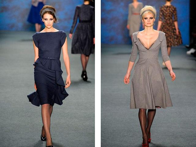 Стильные платья из джерси