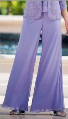брюки из шифона