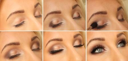 Простой и красивый макияж для блондинки