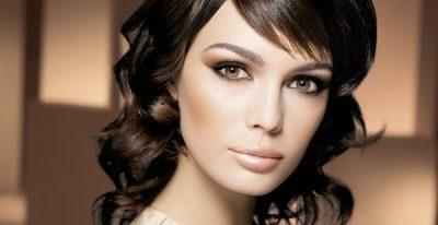 макияж для темноволосых