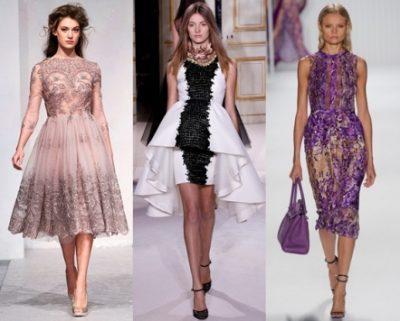 платья от дизайнеров