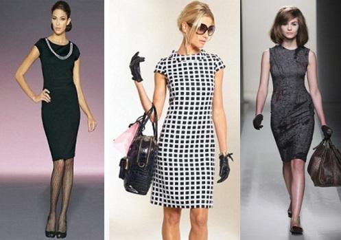 Фасоны классического летнего платья