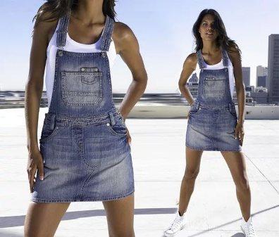 сарафан из джинсы