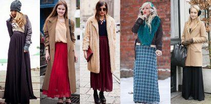 зимние платья