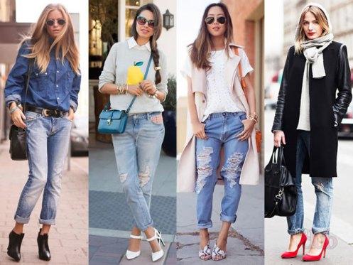 фото с чем одеть джинсы