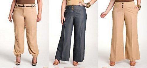 брюки-для-полных-женщин