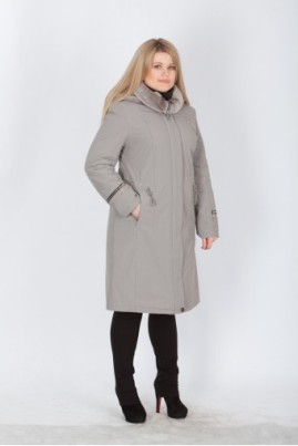 пальто большого размера