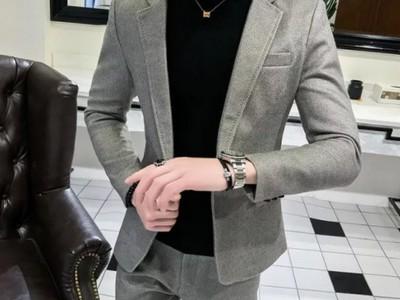 мужской костюм в деловом стиле