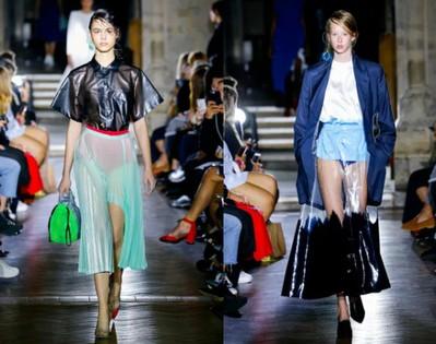 Прозрачные юбки