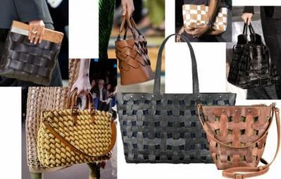 сумки-плетенки